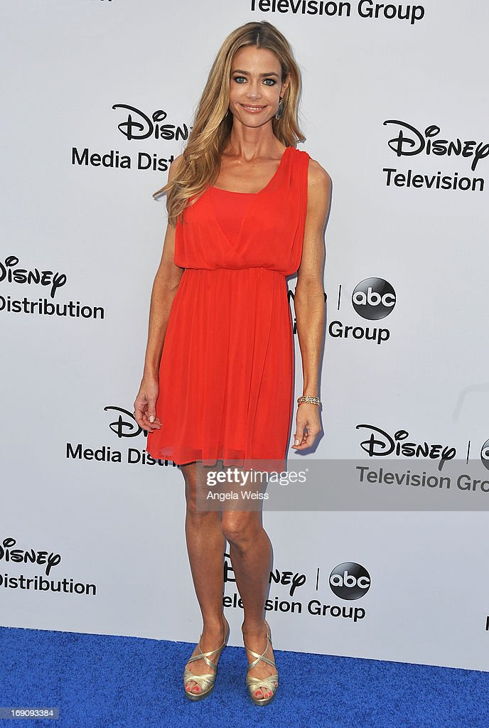 Actress Denise Richards arrives at the Disney Media Networks International Upfronts at Walt Disney Studios on May 19, 2013 in Burbank, California.