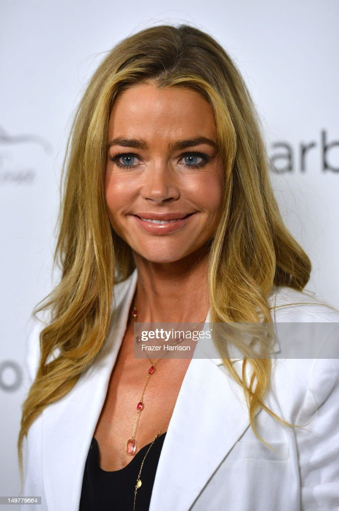 Actress <a gi-track='captionPersonalityLinkClicked' href=/galleries/search?phrase=Denise+Richards+-+Actress&family=editorial&specificpeople=208108 ng-click='$event.stopPropagation()'>Denise Richards</a> attends the Carbon Audio's Zooka Launch Party on August 3, 2012 in West Hollywood, California.