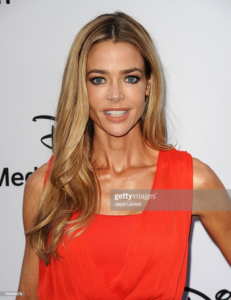 Actress <a gi-track='captionPersonalityLinkClicked' href=/galleries/search?phrase=Denise+Richards+-+Attrice&family=editorial&specificpeople=208108 ng-click='$event.stopPropagation()'>Denise Richards</a> attends the Disney Media Networks International Upfronts at Walt Disney Studios on May 19, 2013 in Burbank, California.