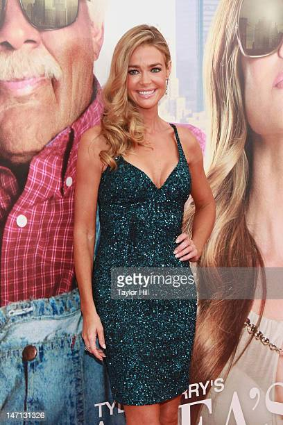 Actress Denise Richards attends 'Tyler Perry's Madea's Witness Protection' New York Premiere at AMC Lincoln Square Theater on June 25 2012 in New...
