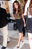 Actress Denise Richards visits the 'Wendy Williams Show' taping at AMV Studios on October 27 2010 in New York City
