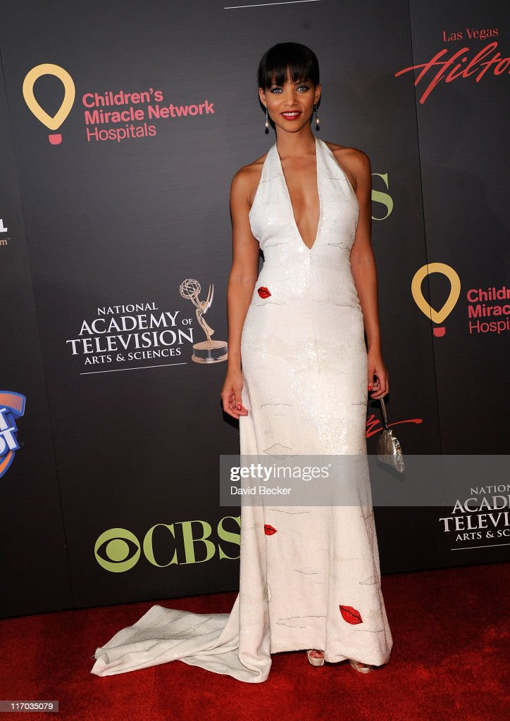 Actress Denise Vasi arrives at the 38th Annual Daytime Entertainment Emmy Awards held at the Las Vegas Hilton on June 19, 2011 in Las Vegas, Nevada.