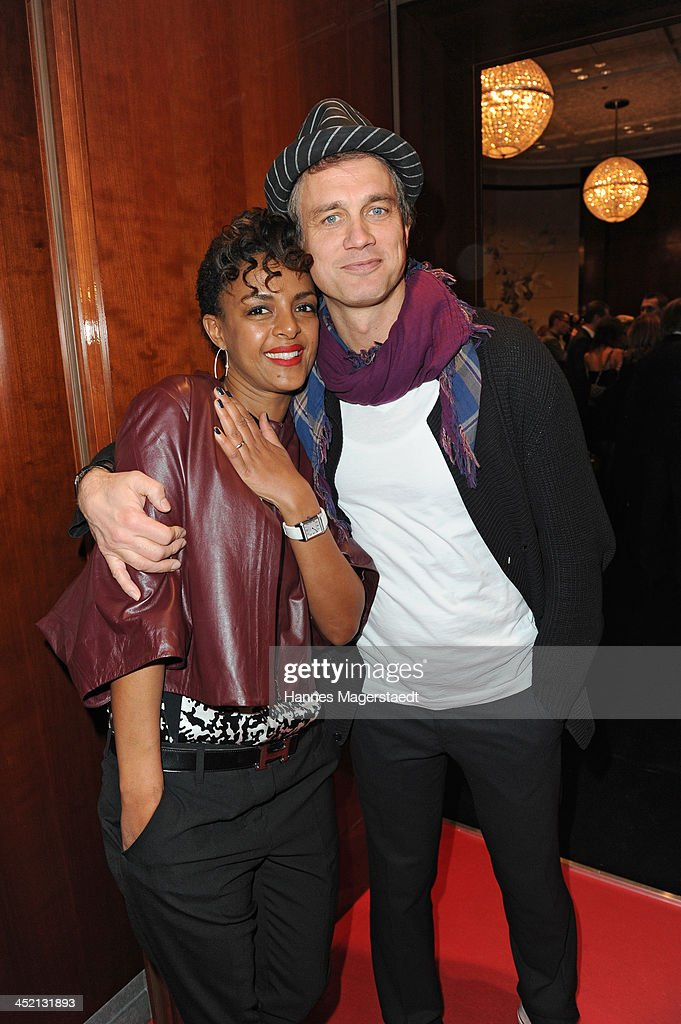 Actress Dennensch Zoude and actor <a gi-track='captionPersonalityLinkClicked' href=/galleries/search?phrase=Ralf+Bauer&family=editorial&specificpeople=628547 ng-click='$event.stopPropagation()'>Ralf Bauer</a> attend Jaeger-LeCoultre Cocktail at Charles hotel on November 26, 2013 in Munich, Germany.