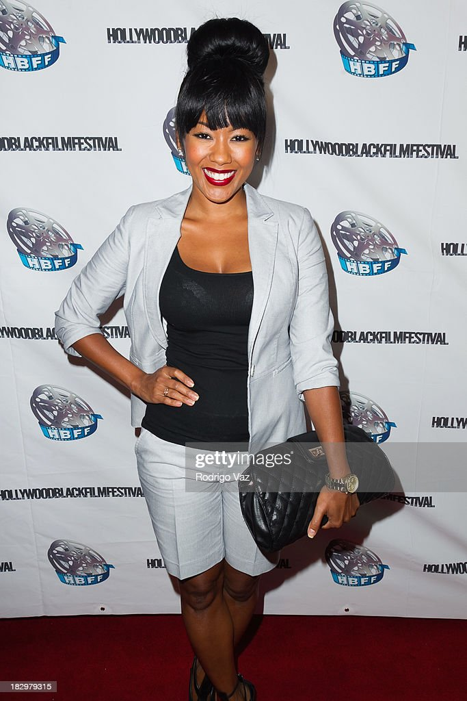 Actress <a gi-track='captionPersonalityLinkClicked' href=/galleries/search?phrase=Denyce+Lawton&family=editorial&specificpeople=758538 ng-click='$event.stopPropagation()'>Denyce Lawton</a> attends the Opening Night for the Hollywood Black Film Festival (HBFF) Arrivals at The Ricardo Montalban Theatre on October 2, 2013 in Hollywood, California.