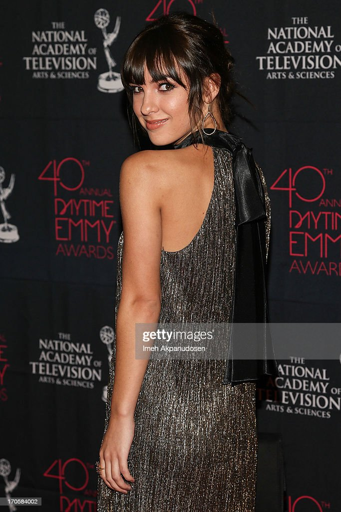Actress Denyse Tontz attends The National Academy Of Television Arts & Sciences Presents The 40th Annual Daytime Entertainment Creative Arts Emmy Awards at Westin Bonaventure Hotel on June 14, 2013 in Los Angeles, California.