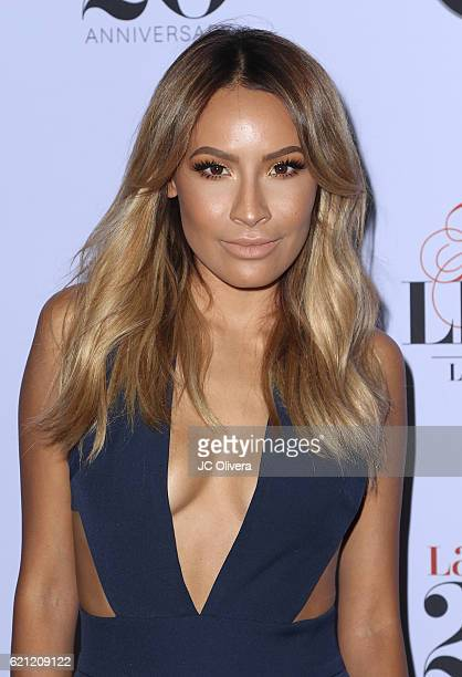 Actress Desi Perkins attends Latina Magazine's 20th Anniversary Event Celebrating 'Hollywood Hot List' Honorees at STK Los Angeles on November 2 2016...