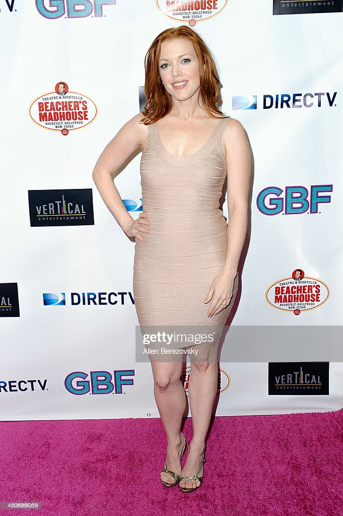 Actress Desiree Hall arrives at the Los Angeles premiere of 'G.B.F.' at Chinese 6 Theater in Hollywood on November 19, 2013 in Hollywood, California.