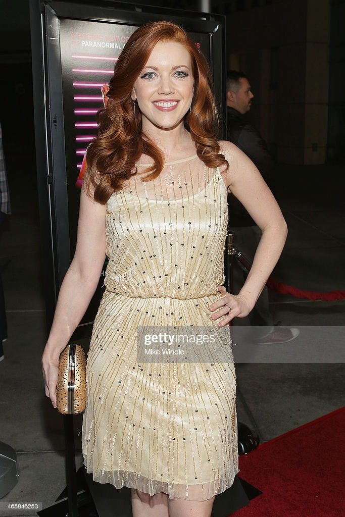 Actress Desiree Hall arrives at the premiere of Magnet's 'Best Night Ever' at ArcLight Cinemas on January 29, 2014 in Hollywood, California.