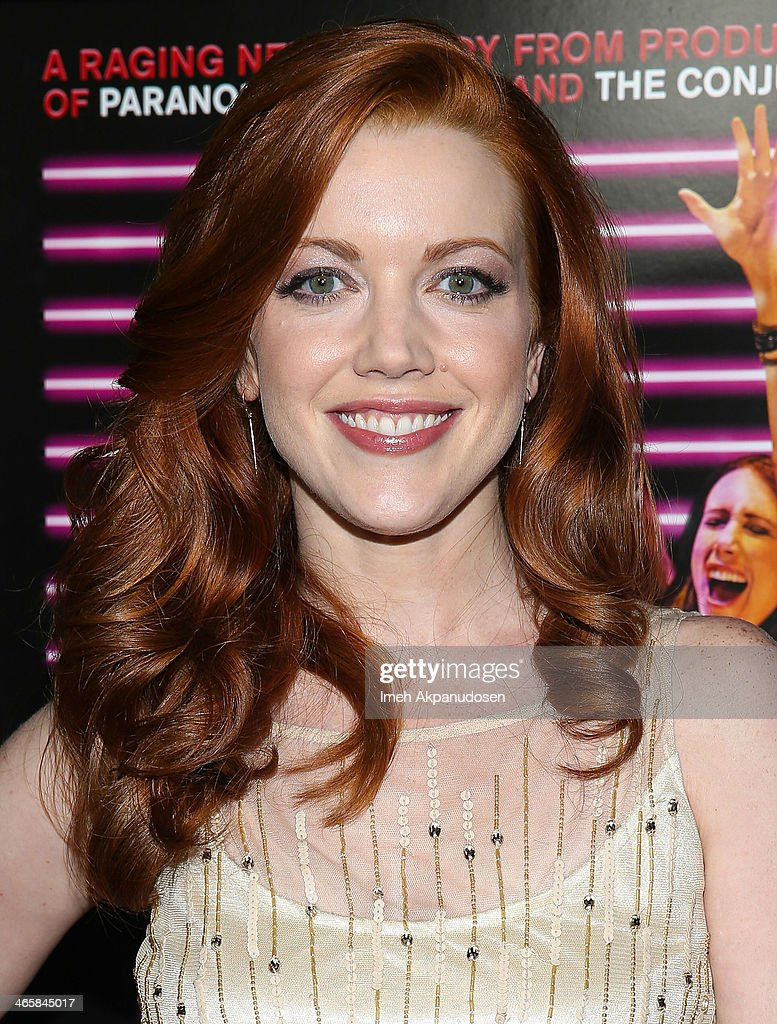 Actress Desiree Hall attends the premiere of Magnet's 'Best Night Ever' at ArcLight Cinemas on January 29, 2014 in Hollywood, California.