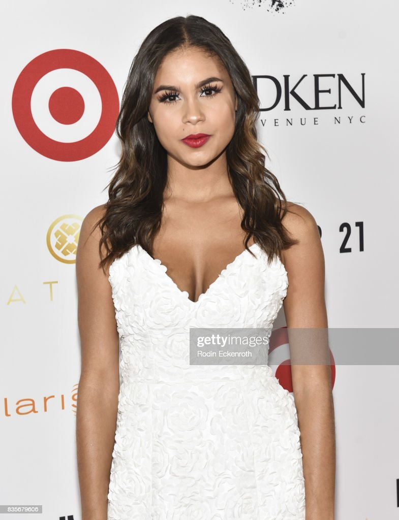 Actress Desiree Ross attends NYX Professional Makeup's 6th Annual FACE Awards at The Shrine Auditorium on August 19, 2017 in Los Angeles, California.