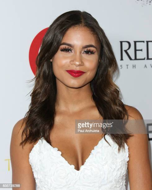 Actress Desiree Ross attends the NYX Professional Makeup's 6th Annual FACE Awards at The Shrine Auditorium on August 19 2017 in Los Angeles California