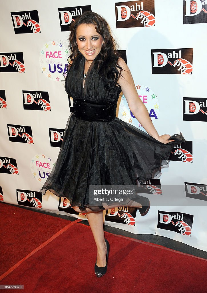 Actress Devanny Pinn arrives for 'The Black Dahlia Haunting' DVD Release Party held at The Station Hollywood on October 15, 2013 in Hollywood, California.