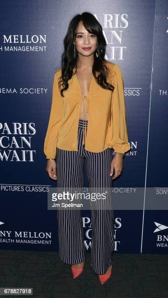 Actress Devika Bhise attends the Sony Pictures Classics' 'Paris Can Wait' screening hosted by The Cinema Society BNY Mellon at Landmark Sunshine...