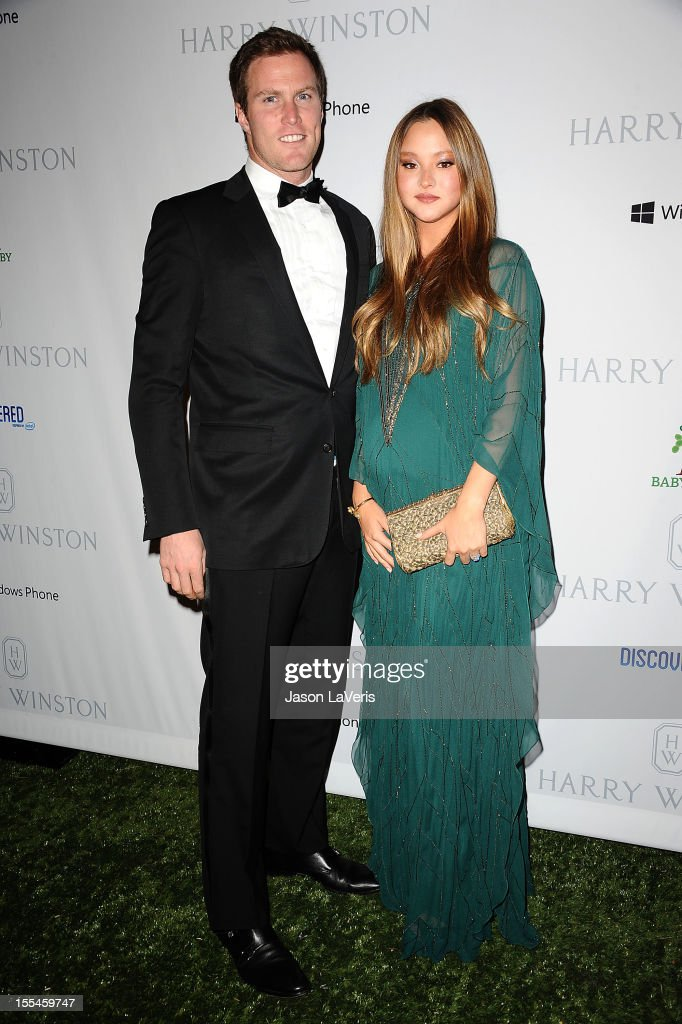 Actress <a gi-track='captionPersonalityLinkClicked' href=/galleries/search?phrase=Devon+Aoki&family=editorial&specificpeople=217563 ng-click='$event.stopPropagation()'>Devon Aoki</a> (R) and James Bailey attend the 1st annual Baby2Baby gala at Book Bindery on November 3, 2012 in Culver City, California.