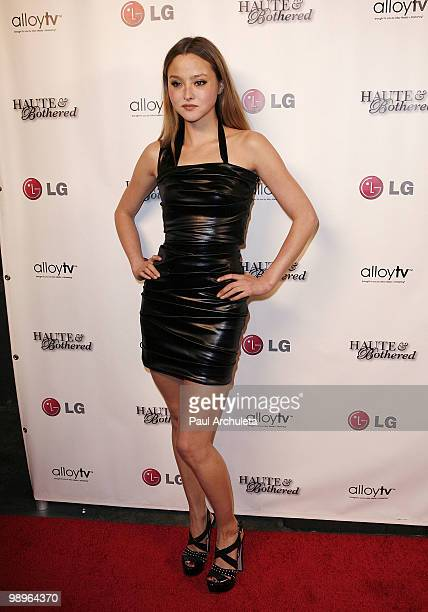Actress Devon Aoki arrives at the 'Haute And Bothered' Season 2 Launch Party at Thompson Hotel on May 10 2010 in Beverly Hills California