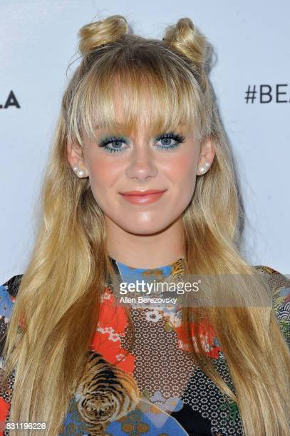 Actress DeVore Ledridge attends the 5th Annual Beautycon Festival Los Angeles at Los Angeles Convention Center on August 13 2017 in Los Angeles...