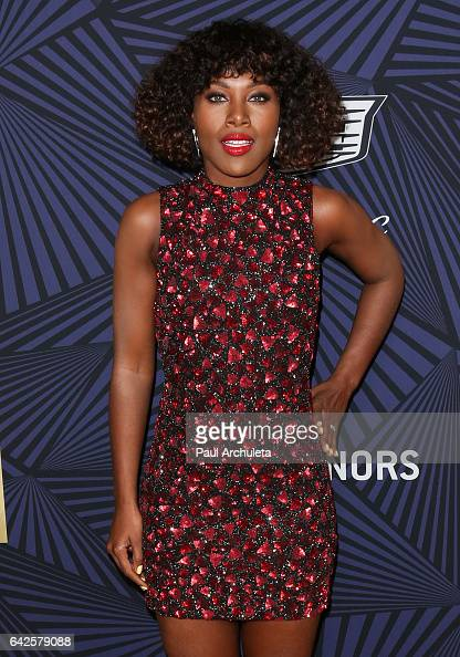 Actress DeWanda Wise attends the BET's 2017 American Black Film Festival Honors Awards at The Beverly Hilton Hotel on February 17 2017 in Beverly...