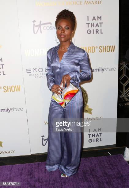 Actress DeWanda wise attends the Women's Choice Award Show at Avalon Hollywood on May 17 2017 in Los Angeles California