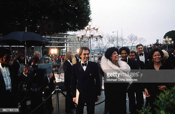 Actress Diahann Carroll arrives to the 47th Academy Awards at Dorothy Chandler Pavilion in Los AngelesCalifornia