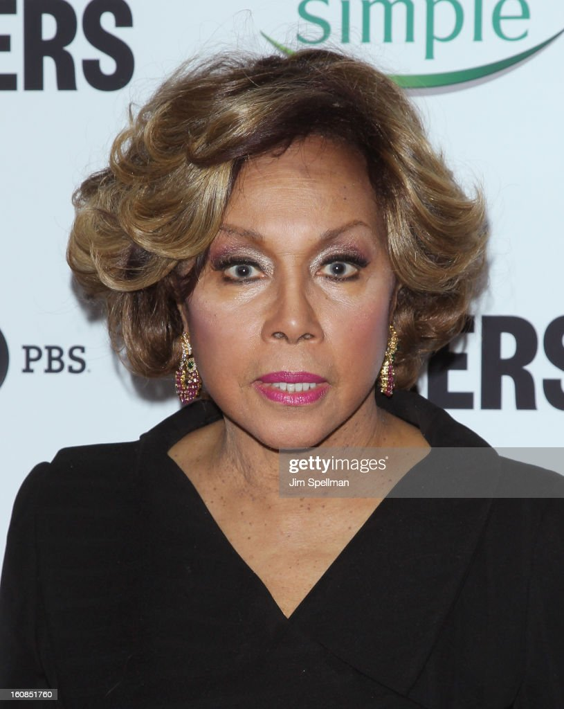 Actress Diahann Carroll attends the 'Makers: Women Who Make America' New York Premiere at Alice Tully Hall at Lincoln Center on February 6, 2013 in New York City.
