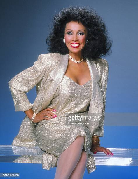 Actress Diahann Carroll poses for a portrait in 1989 in Los Angeles California