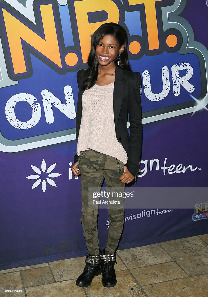 Actress Diamond White attends the Radio Disney's 'N.B.T.' (Next BIG Thing) season five winner announcements at The Americana at Brand on December 8, 2012 in Glendale, California.