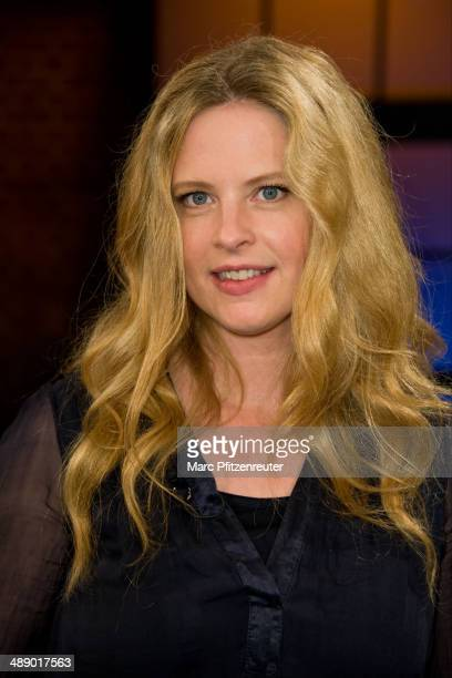 Actress Diana Amft attends the 'Koelner Treff' TV Show at the WDR Studio on May 09 2014 in Cologne Germany