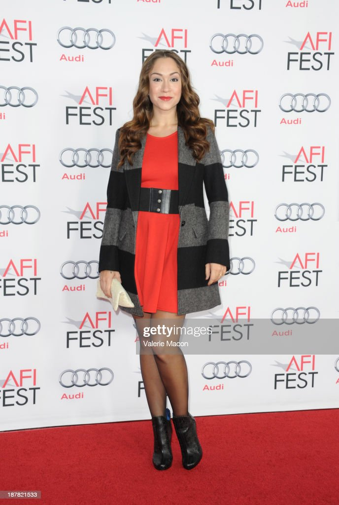 Actress Diana DeGarmo attends the premiere for 'Lone Survivor' during AFI FEST 2013 presented by Audi at TCL Chinese Theatre on November 12, 2013 in Hollywood, California.