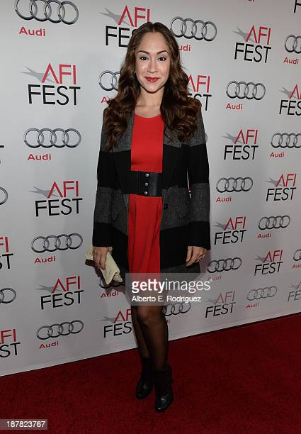 Actress Diana DeGarmo attends the premiere for 'Lone Survivor' during AFI FEST 2013 presented by Audi at TCL Chinese Theatre on November 12 2013 in...