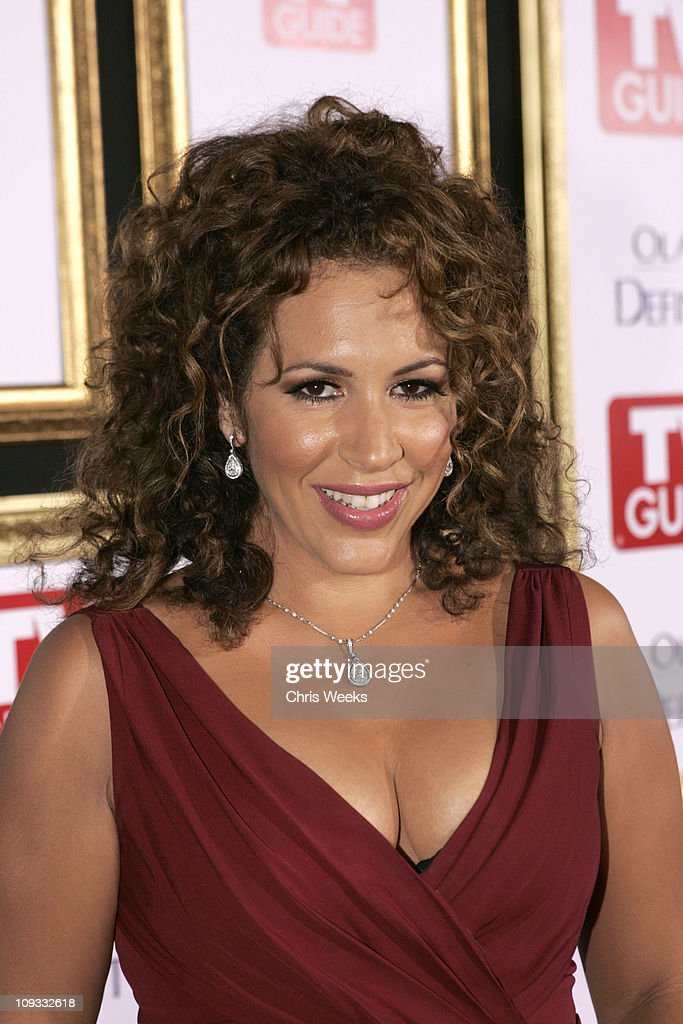 Actress Diana-<a gi-track='captionPersonalityLinkClicked' href=/galleries/search?phrase=Maria+Riva&family=editorial&specificpeople=233699 ng-click='$event.stopPropagation()'>Maria Riva</a> arrives at the The 59th Primetime EMMY Awards TV Guide After Party at Les Deux on September 16, 2007 in Los Angeles