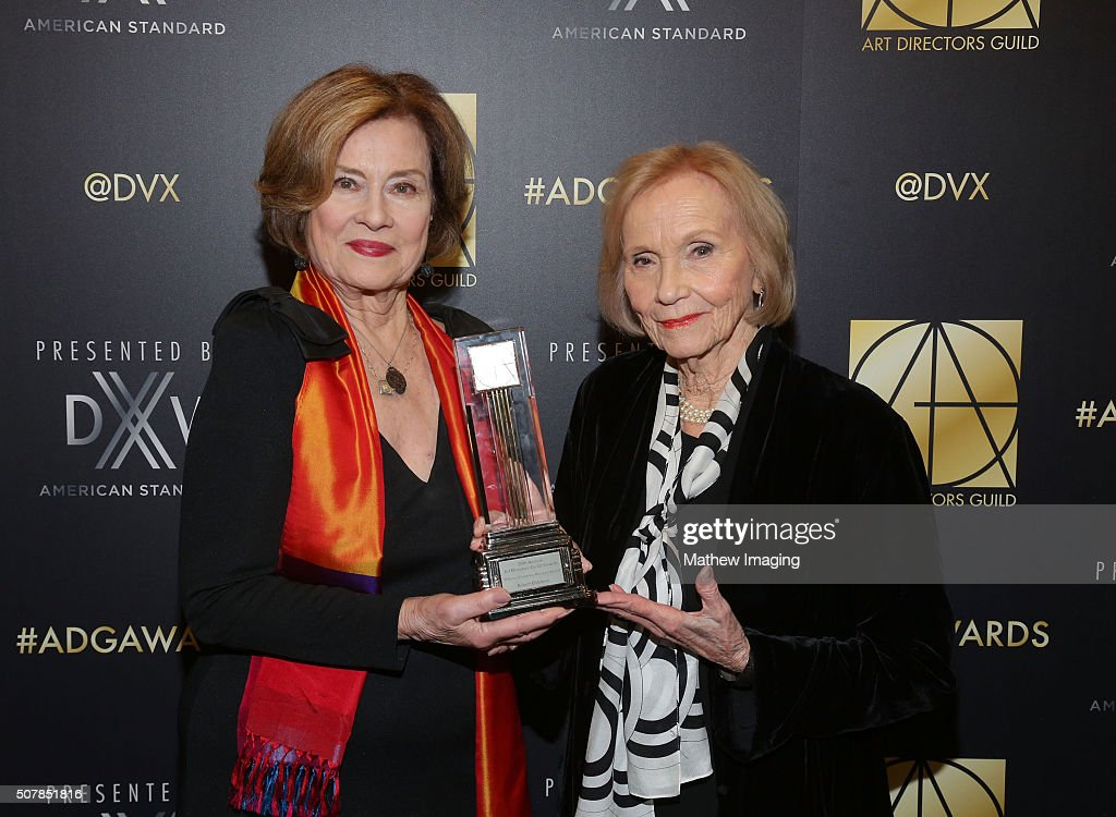 Actress Diane Baker and actress Eva Marie Saint attend the 20th Annual Art Directors Guild Excellence In Production Design Awards at The Beverly Hilton Hotel on January 31, 2016 in Beverly Hills, California.