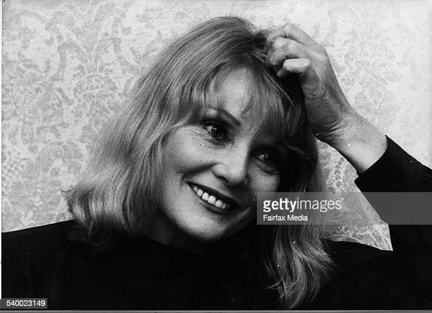 Actress Diane Cilento 16 March 1979