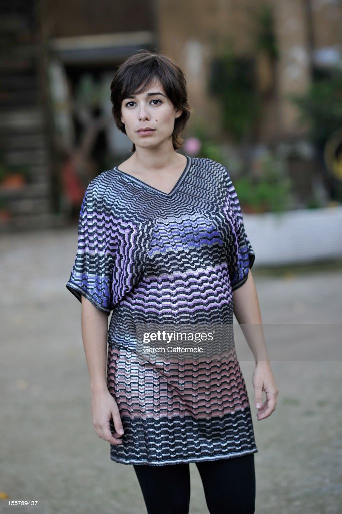 Actress Diane Fleri during a portrait session at The 7th Rome Festival on November 8, 2012 in Rome, Italy.