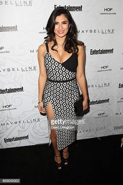 Actress Diane Guerrero arrives at the Entertainment Weekly celebration honoring nominees for The Screen Actors Guild Awards at the Chateau Marmont on...