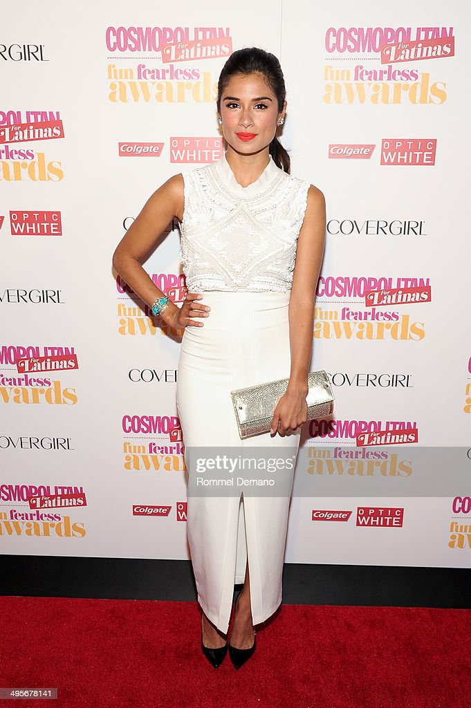 Actress <a gi-track='captionPersonalityLinkClicked' href=/galleries/search?phrase=Diane+Guerrero&family=editorial&specificpeople=11068460 ng-click='$event.stopPropagation()'>Diane Guerrero</a> attends Cosmopolitan 'Fun, Fearless' Latina Awards at Hearst Tower on June 4, 2014 in New York City.