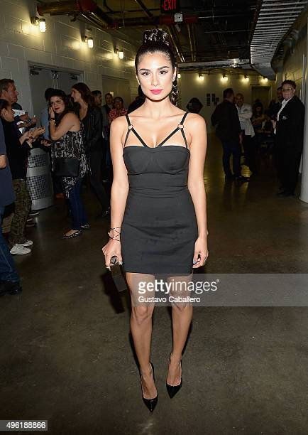 Actress Diane Guerrero attends iHeartRadio Fiesta Latina presented by Sprint at American Airlines Arena on November 7 2015 in Miami Florida