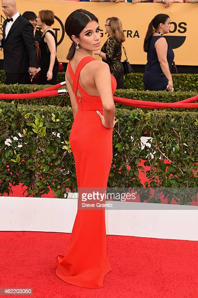 Actress Diane Guerrero attends the 21st Annual Screen Actors Guild Awards at The Shrine Auditorium on January 25 2015 in Los Angeles California