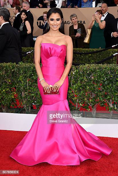 Actress Diane Guerrero attends the 22nd Annual Screen Actors Guild Awards at The Shrine Auditorium on January 30 2016 in Los Angeles California