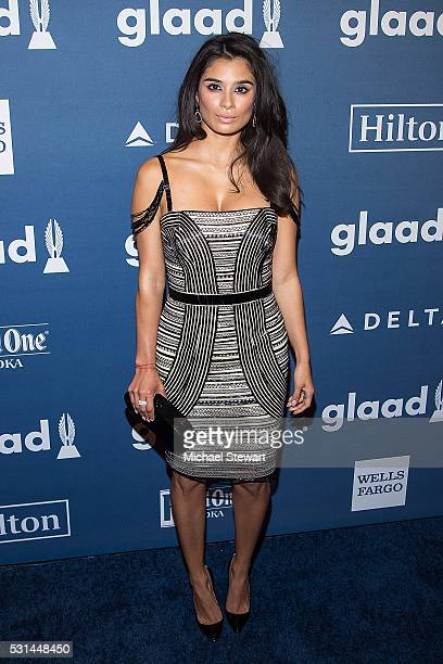Actress Diane Guerrero attends the 27th Annual GLAAD Media Awards at The Waldorf=Astoria on May 14 2016 in New York City