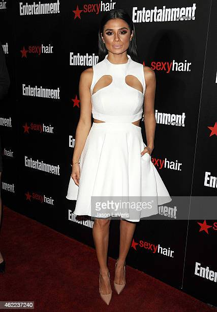 Actress Diane Guerrero attends the Entertainment Weekly celebration honoring nominees for the Screen Actors Guild Awards at Chateau Marmont on...