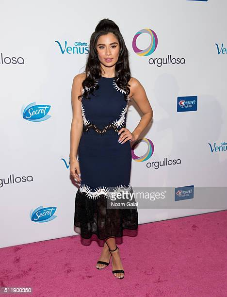 Actress Diane Guerrero attends the Orgullosa #LivingFabulosa event at The Paley Center for Media on February 23 2016 in New York City