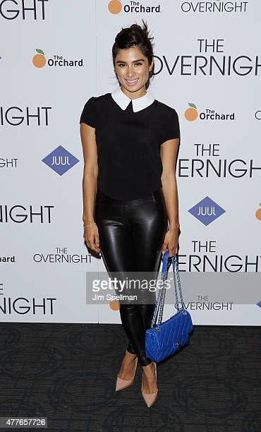 Actress Diane Guerrero attends 'The Overnight' New York premiere at Landmark's Sunshine Cinema on June 18 2015 in New York City