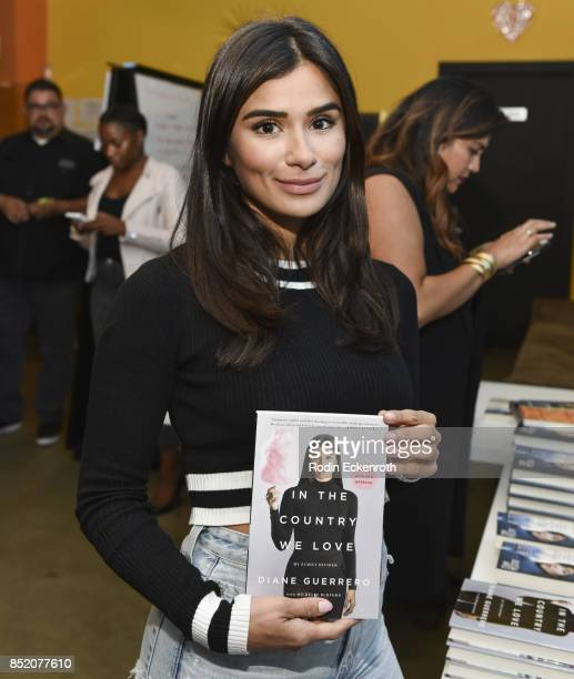 Actress Diane Guerrero poses for portrait at 30 Days of LatinX at Pico Youth Family Center on September 22 2017 in Santa Monica California