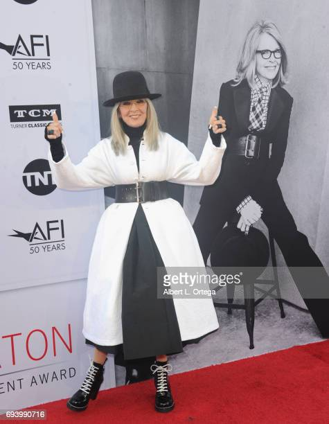 Actress Diane Keaton arrives for the AFI Life Achievement Award Gala Tribute To Diane Keaton held on June 8 2017 in Hollywood California
