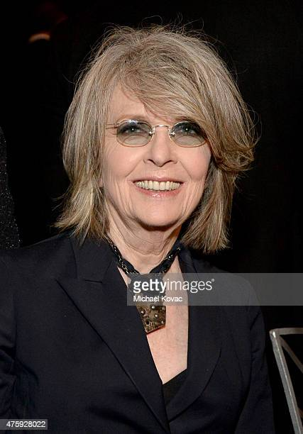 Actress Diane Keaton attends the 43rd AFI Life Achievement Award Gala honoring Steve Martin at Dolby Theatre on June 4 2015 in Hollywood California