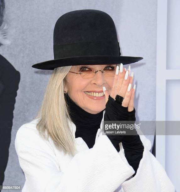 Actress Diane Keaton attends the AFI Life Achievement Award gala at Dolby Theatre on June 8 2017 in Hollywood California