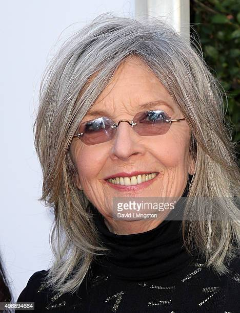 Actress Diane Keaton attends the premiere of CBS Films' 'Love the Coopers' at Park Plaza at The Grove on November 12 2015 in Los Angeles California