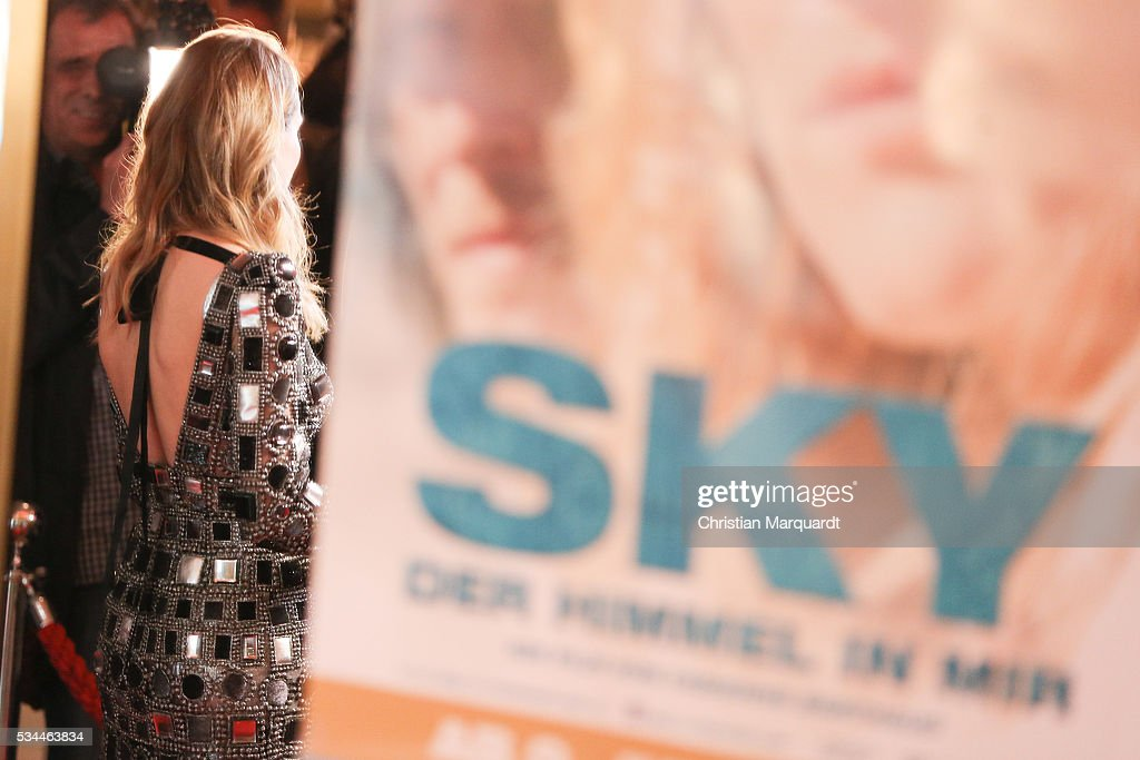 Actress Diane Krueger attends the German premiere of the film 'Sky - Der Himmel in mir' at Zoo Palast on May 26, 2016 in Berlin, Germany.