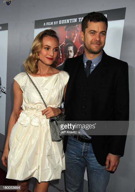 Actress Diane Kruger and actor Joshua Jackson arrive at Inglourious Basterds BluRay and DVD Launch at New Beverly Cinema on December 14 2009 in Los...