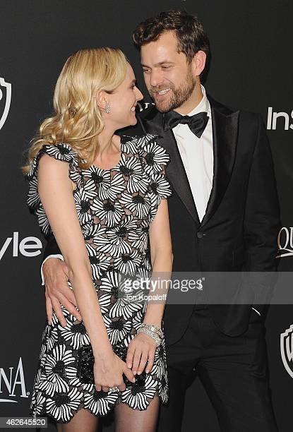 Actress Diane Kruger and actor Joshua Jackson arrive at the 16th Annual Warner Bros And InStyle PostGolden Globe Party at The Beverly Hilton Hotel on...